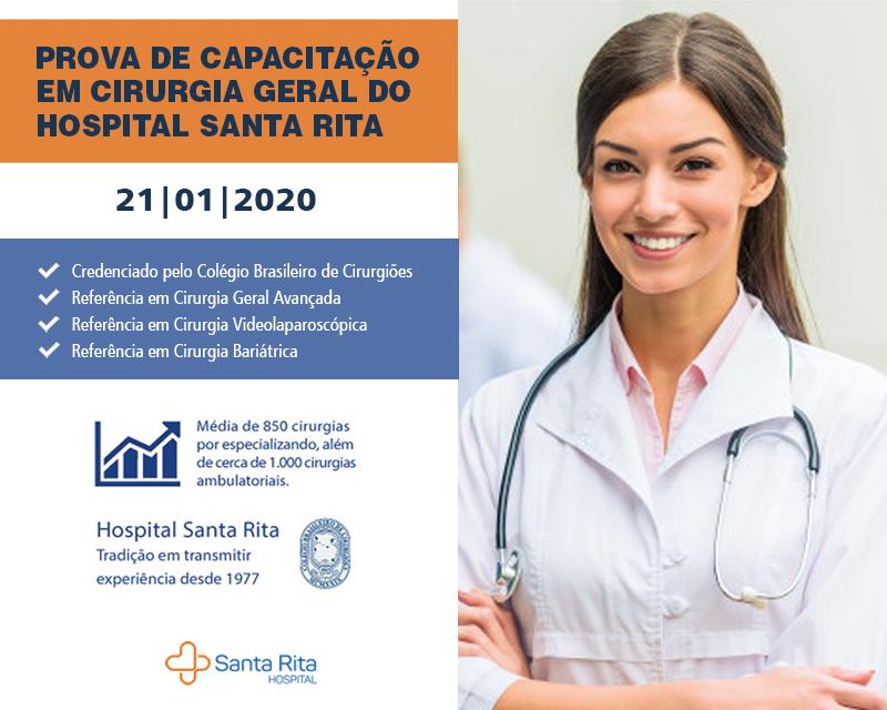 Hospital Santa Rita abre edital para Cirurgia Geral