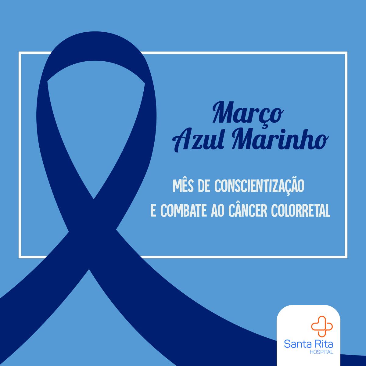 Março Azul: previna-se do Câncer Colorretal